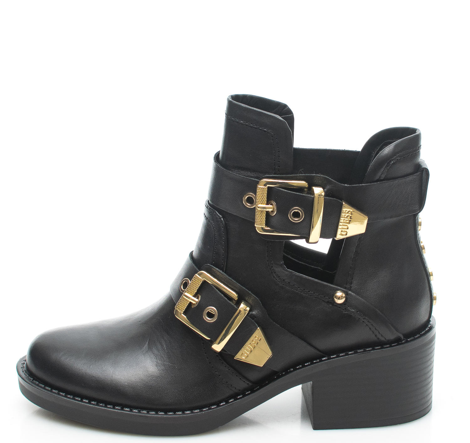 Women's shoes - boots FONZIE, in leather
