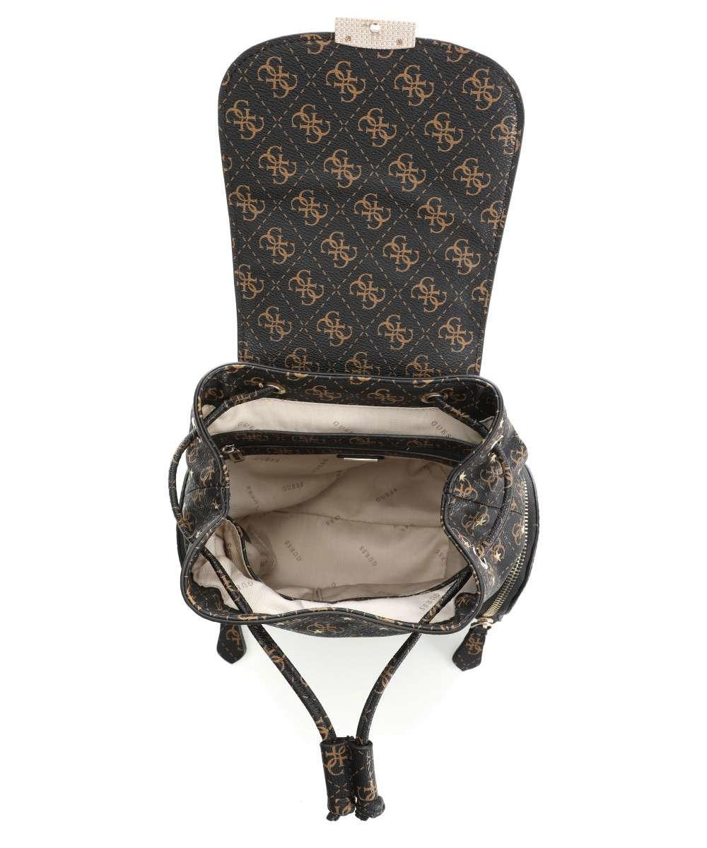 032eee190f Guess Affair Mini Shoulder Backpack Brown - Shop Online At Best Prices!