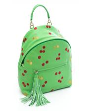 - COCCINELLE Leonie Cherry Shoulder backpack in leather