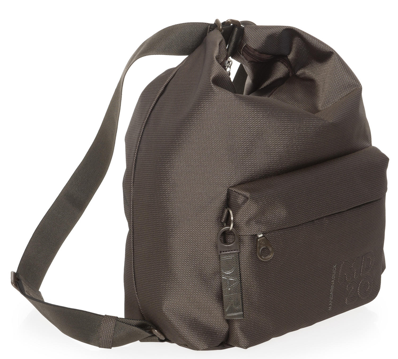 3bd55e3c9f3 Mandarina Duck Md20 Bag Convertible Into A Backpack Pyrite - Shop ...