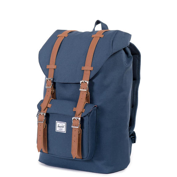 "Backpacks & School and Leisure - HERSCHEL backpack Model LITTLE AMERICA MID VOLUME, 13 ""PC holder"