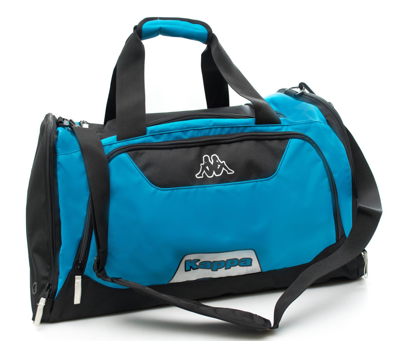 84b7d9013a Borsone Kappa Con Tracolla Removibile Blue Black - Shop Online At ...
