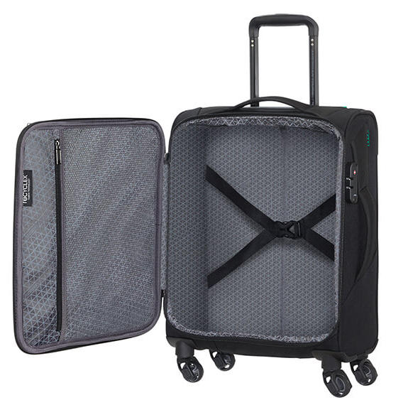 - Trolley AMERICAN TOURISTER ECO WONDER, hand luggage in RECYCLEX ™