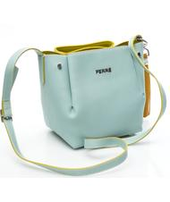 - FERRA COLLECTIONS Mini over-the-shoulder bucket bag