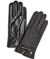 - GUESS gloves In leather and cloth
