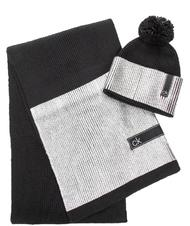 CALVIN KLEIN scarf and hat