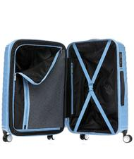 Rigid Trolley Cases - Trolley AMERICAN TOURISTER JETGLAM line, large size, expandable