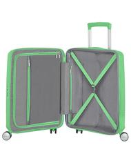 - Trolley AMERICAN TOURISTER SOINDBOX line, hand baggage, expandable