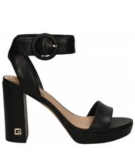 - GUESS high sandals BREND, in leather