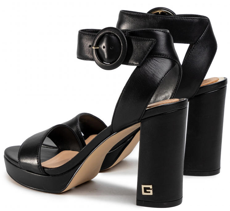 Women's shoes - high sandals BREND, in leather