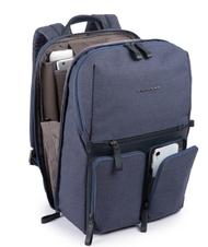"- PIQUADRO backpack TIROS Fast Check, 15.6"" PC case"