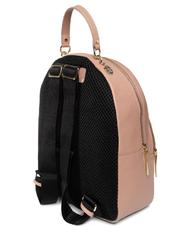 - COCCINELLE ALPHA Backpack, in natural grain leather