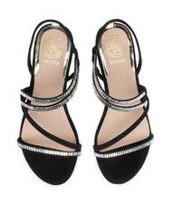 - GUESS RAVENA Suede leather sandals