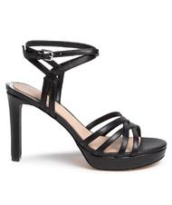 - GUESS BEACHIE High platform sandals in leather