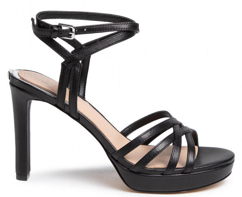 Women's shoes -  BEACHIE High platform sandals in leather
