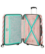 Rigid Trolley Cases - AMERICAN TOURISTER FUNLIGHT DISNEY Medium size trolley