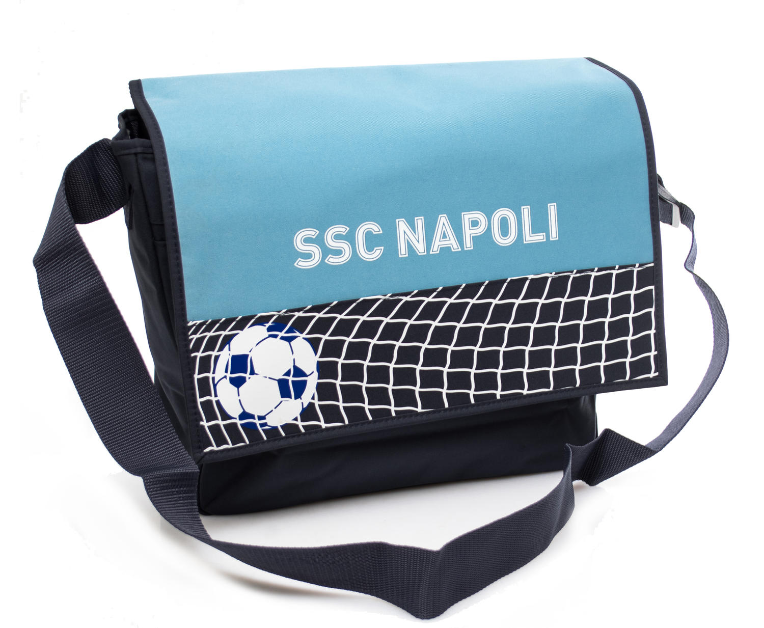Backpacks & School and Leisure -  MESSENGER in fabric, Naples print