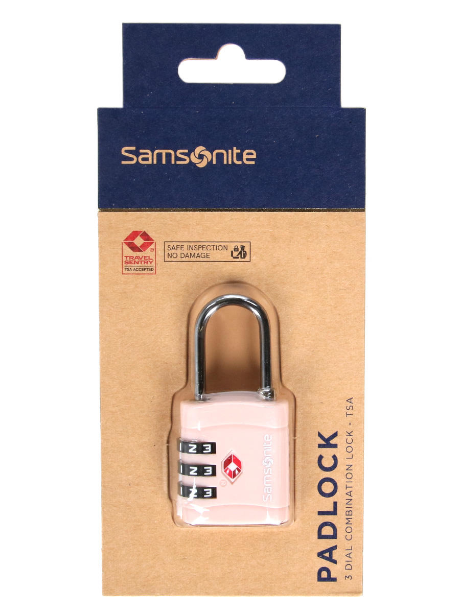 Travel Accessories -  GLOBAL TRAVEL TSA combination lock