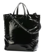 - A|X ARMANI EXCHANGE SHOPPING BAG with shoulder strap