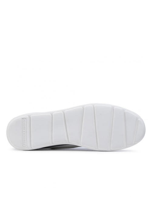 - A|X ARMANI EXCHANGE Men's leather sneakers