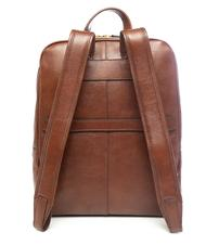 "- THE BRIDGE 13 ""leather laptop backpack"