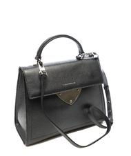 - COCCINELLE B14 Metallic Handbag with shoulder strap, in leather