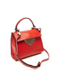 - COCCINELLE B14 Mini Handbag, with shoulder strap, in grained leather