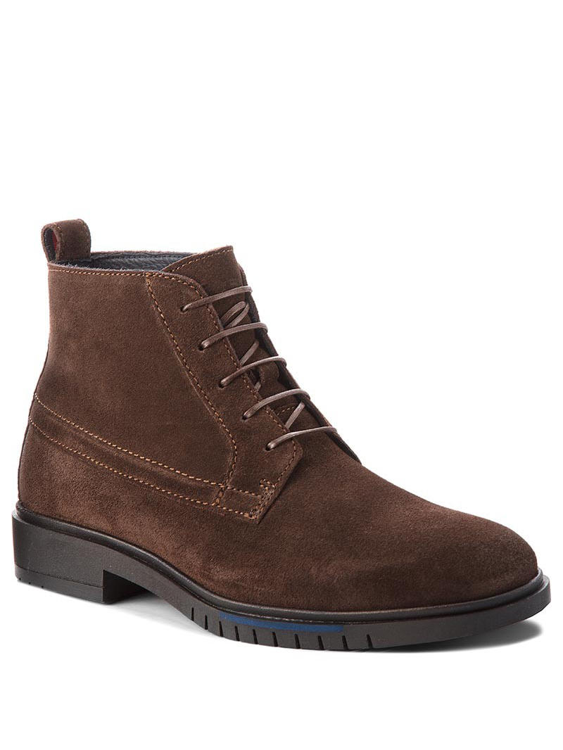 Men's shoes -  Men's ankle boots in suede leather