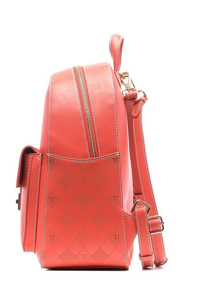 260088e21b Trussardi Jeans Lisbon Shoulder Bag Backpack Red - Shop Online At ...