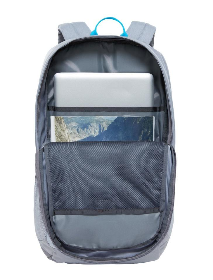 "The North Face Rodey Backpack 15"" Pc Case Midgreydarkheatherzincgrey ... e2e8f30341d4"