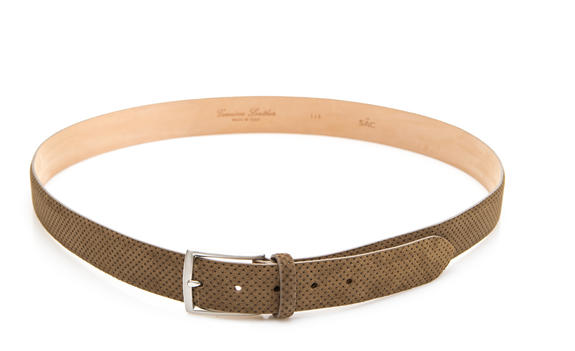 - LeSAC belt Made in Italy. in leather