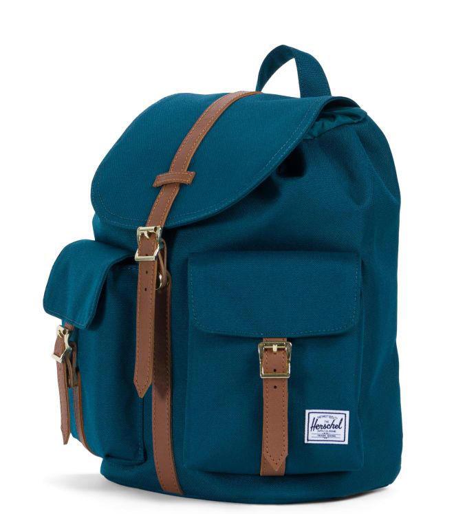 22f2c173c9db Herschel Dawson Xs Shoulder Backpack Deep Teal   Tan - Shop Online ...